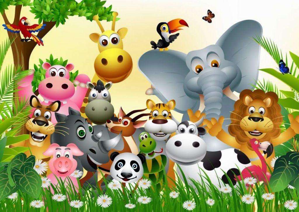 Клипарт животные для детей на прозрачном фоне - сборка (29)
