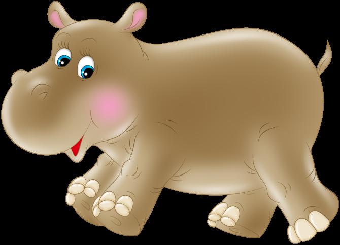 Клипарт животные для детей на прозрачном фоне (28)
