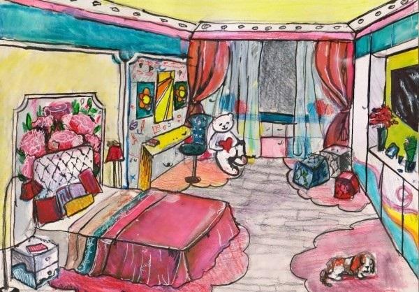 Комната моей мечты для девочек картинки019