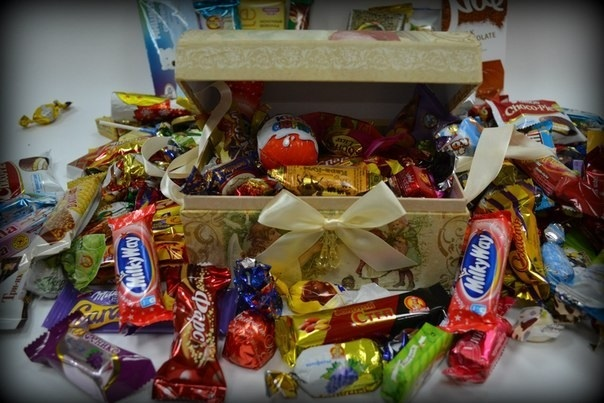 Коробка со сладостями фото и картинки красивые016