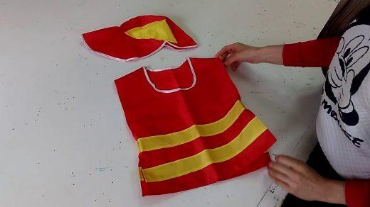 Костюм пожарника для детей своими руками002