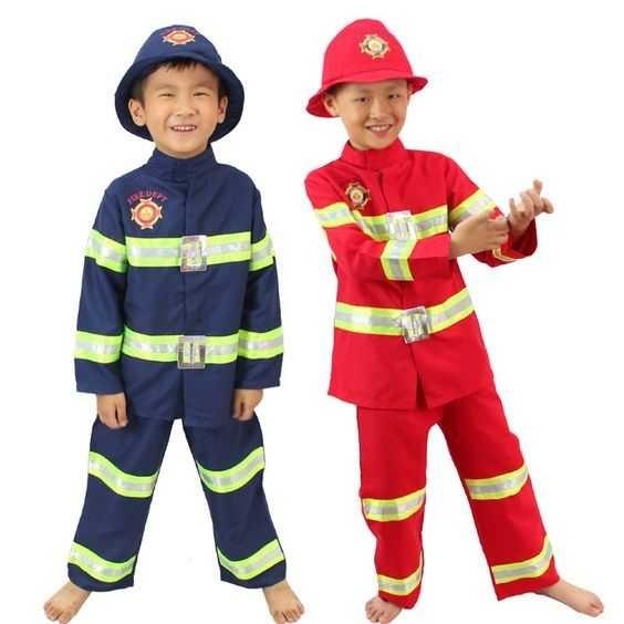 Костюм пожарника для детей своими руками003