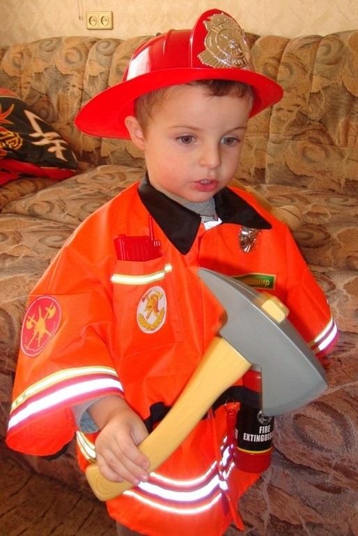 Костюм пожарника для детей своими руками006