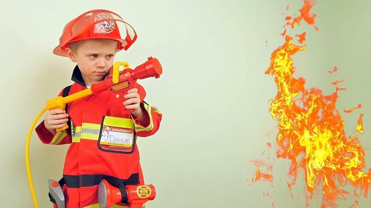 Костюм пожарника для детей своими руками007