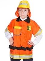 Костюм пожарника для детей своими руками010
