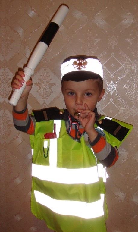 Костюм пожарника для детей своими руками011