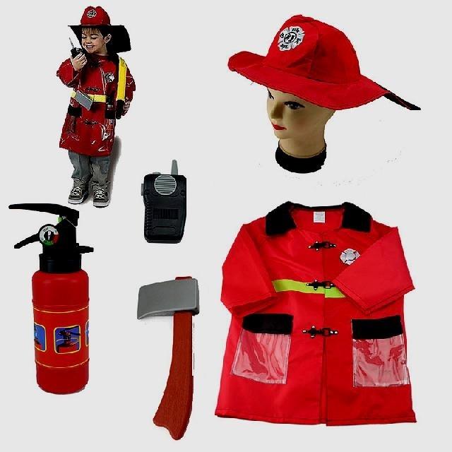Костюм пожарника для детей своими руками013