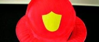 Костюм пожарника для детей своими руками015