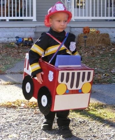 Костюм пожарника для детей своими руками016