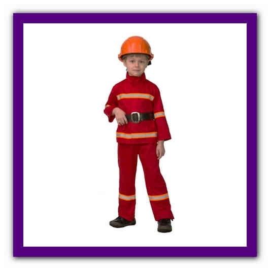 Костюм пожарника для детей своими руками017
