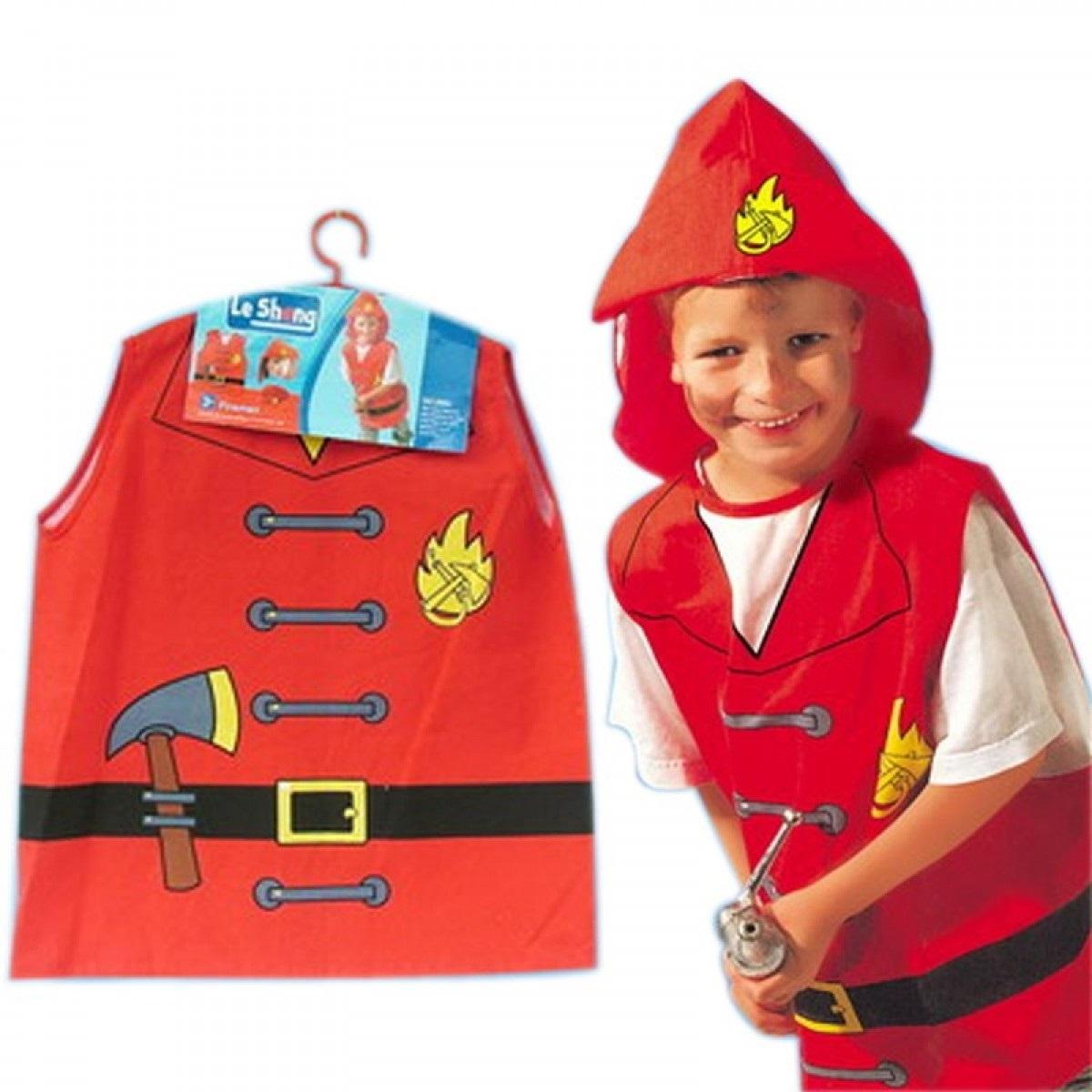 Костюм пожарника для детей своими руками019
