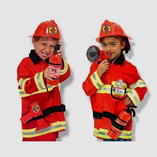 Костюм пожарника для детей своими руками023