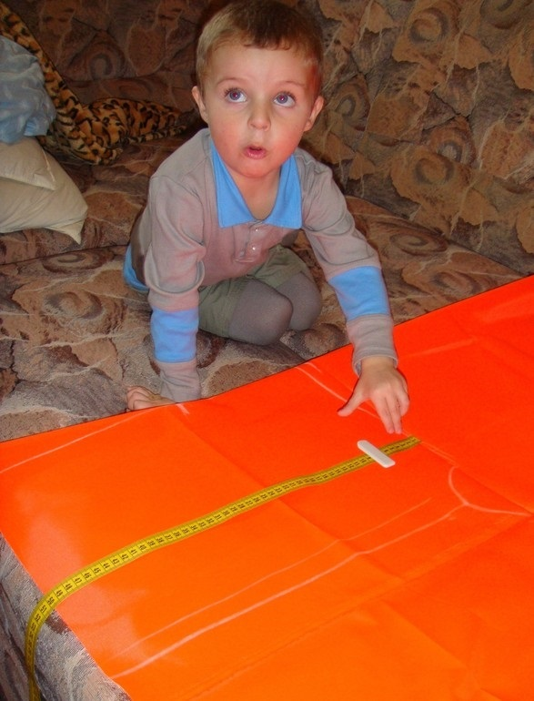 Костюм пожарника для детей своими руками024