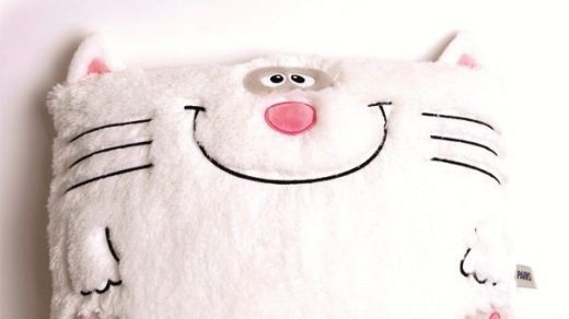 Кот из ткани своими руками выкройки003