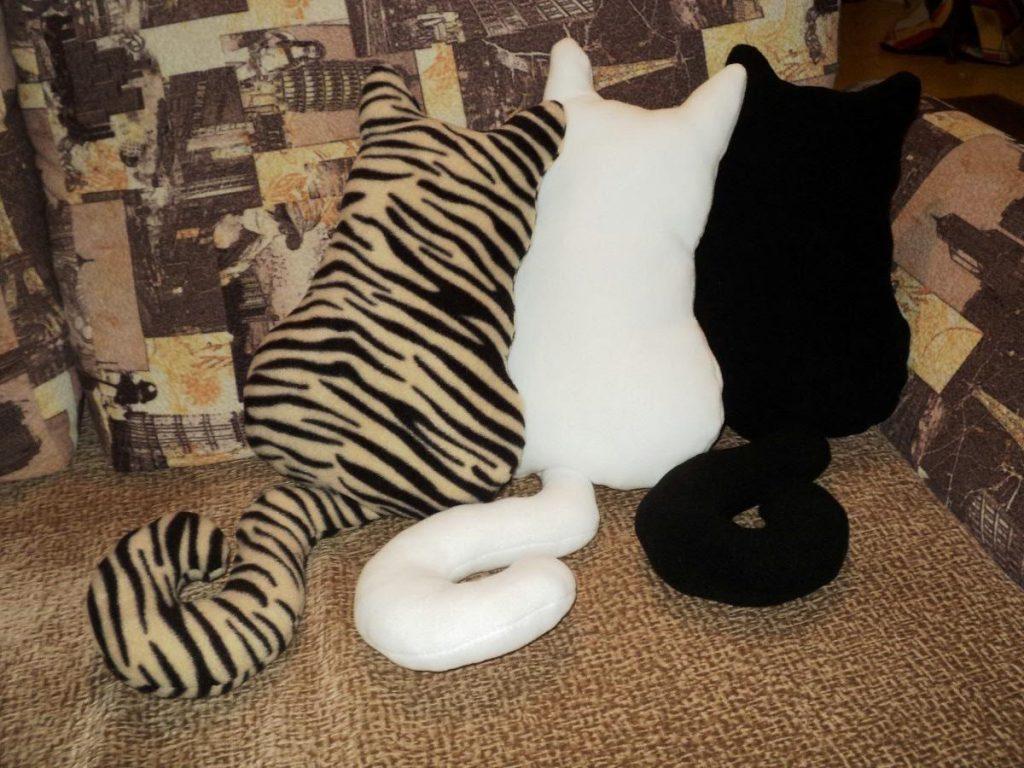 Кот из ткани своими руками выкройки004