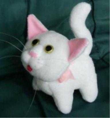 Кот из ткани своими руками выкройки009