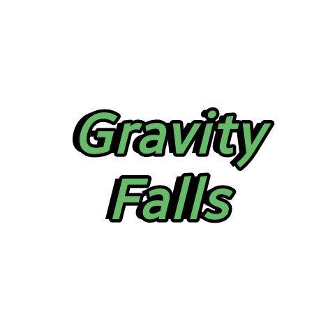 Красивая надпись Гравити Фолз в отличном качестве (7)