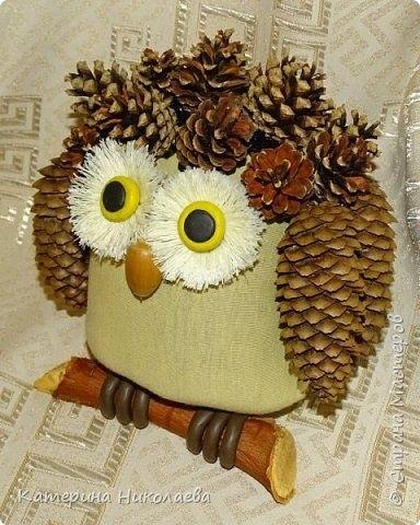 Красивая сова для поделки в картинках005