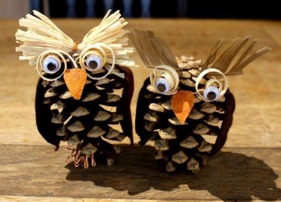 Красивая сова для поделки в картинках007