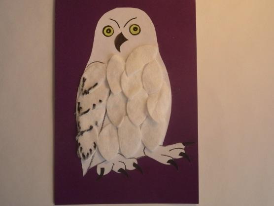Красивая сова для поделки в картинках017