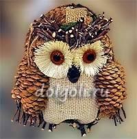 Красивая сова для поделки в картинках025