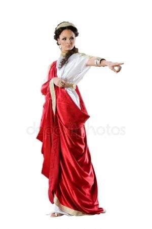 Красивая фотосессия греческая богиня001