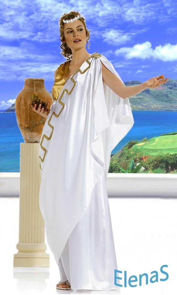 Красивая фотосессия греческая богиня021