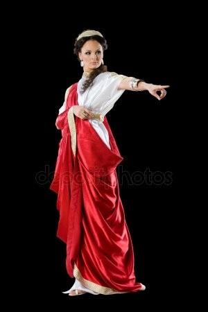 Красивая фотосессия греческая богиня022