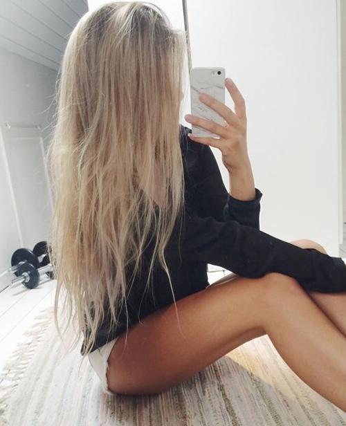 Красивое фото на аватарку для девушек блондинок002