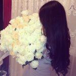 Красивое фото на аву для девушки с цветами
