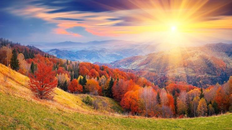 Красивое фото осени на рабочий стол Россия пейзажи005