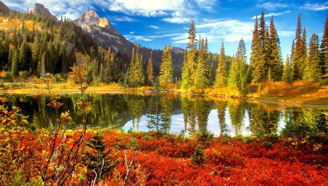 Красивое фото осени на рабочий стол Россия пейзажи010