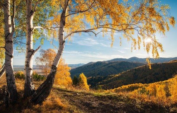 Красивое фото осени на рабочий стол Россия пейзажи011