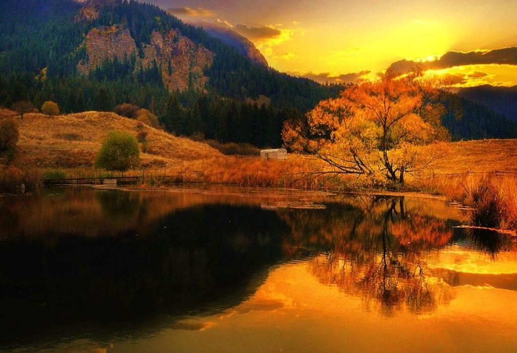 Красивое фото осени на рабочий стол Россия пейзажи013