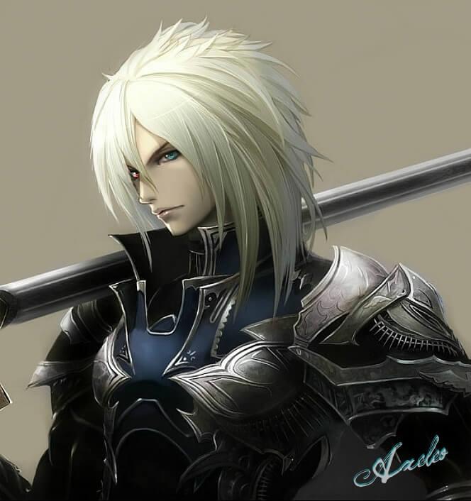 Красивые аниме картинки рыцари002