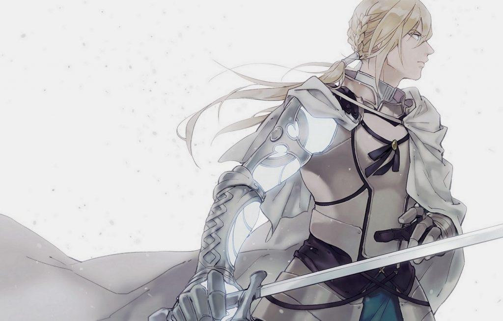 Красивые аниме картинки рыцари007
