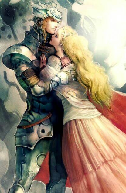 Красивые аниме картинки рыцари026