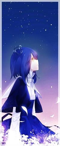 Красивые вертикальные аниме арты (6)