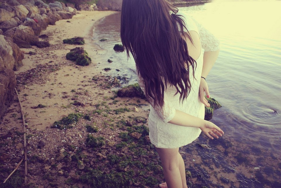 Красивые девушки картинки на аватарку со спины007