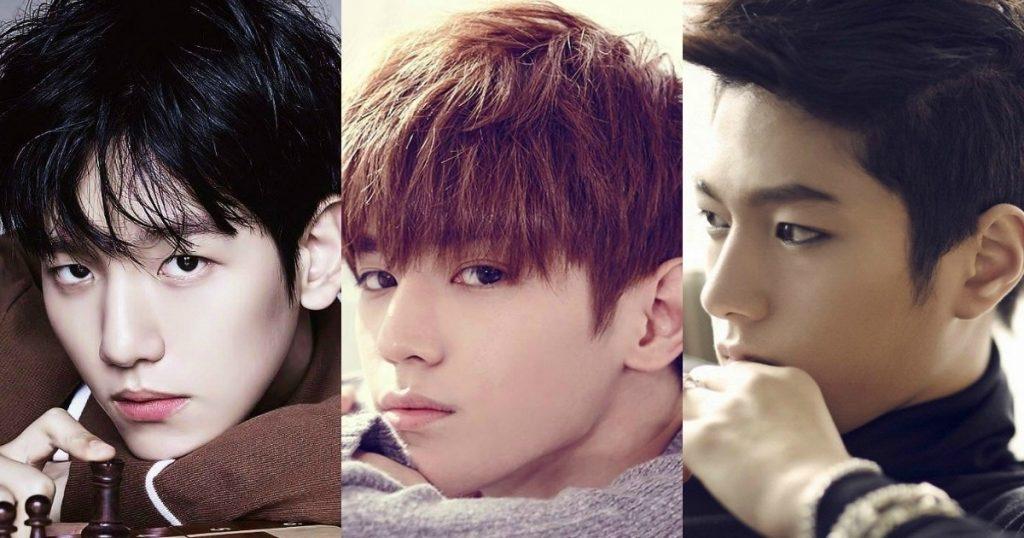 Красивые и горячие корейские парни фото007