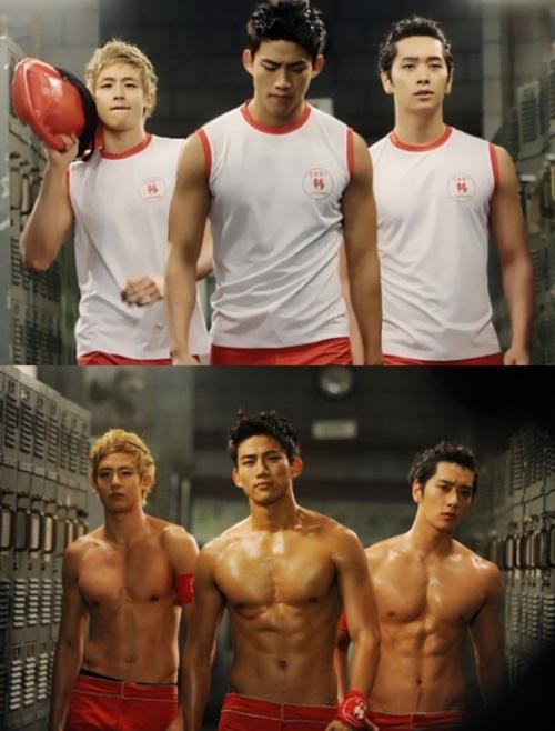 Красивые и горячие корейские парни фото008