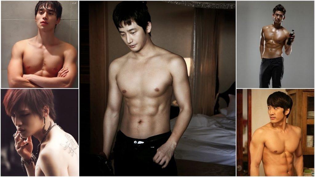 Красивые и горячие корейские парни фото010