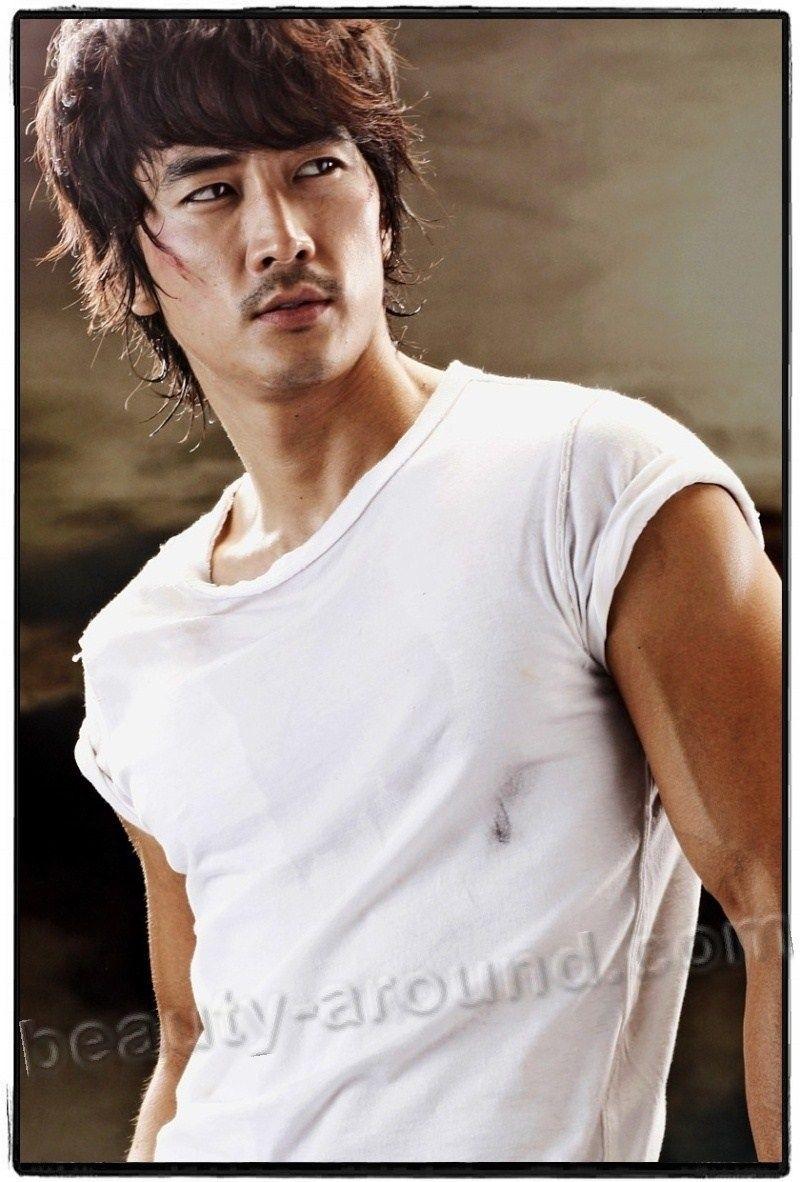 Красивые и горячие корейские парни фото020