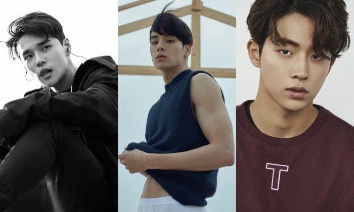 Красивые и горячие корейские парни фото024