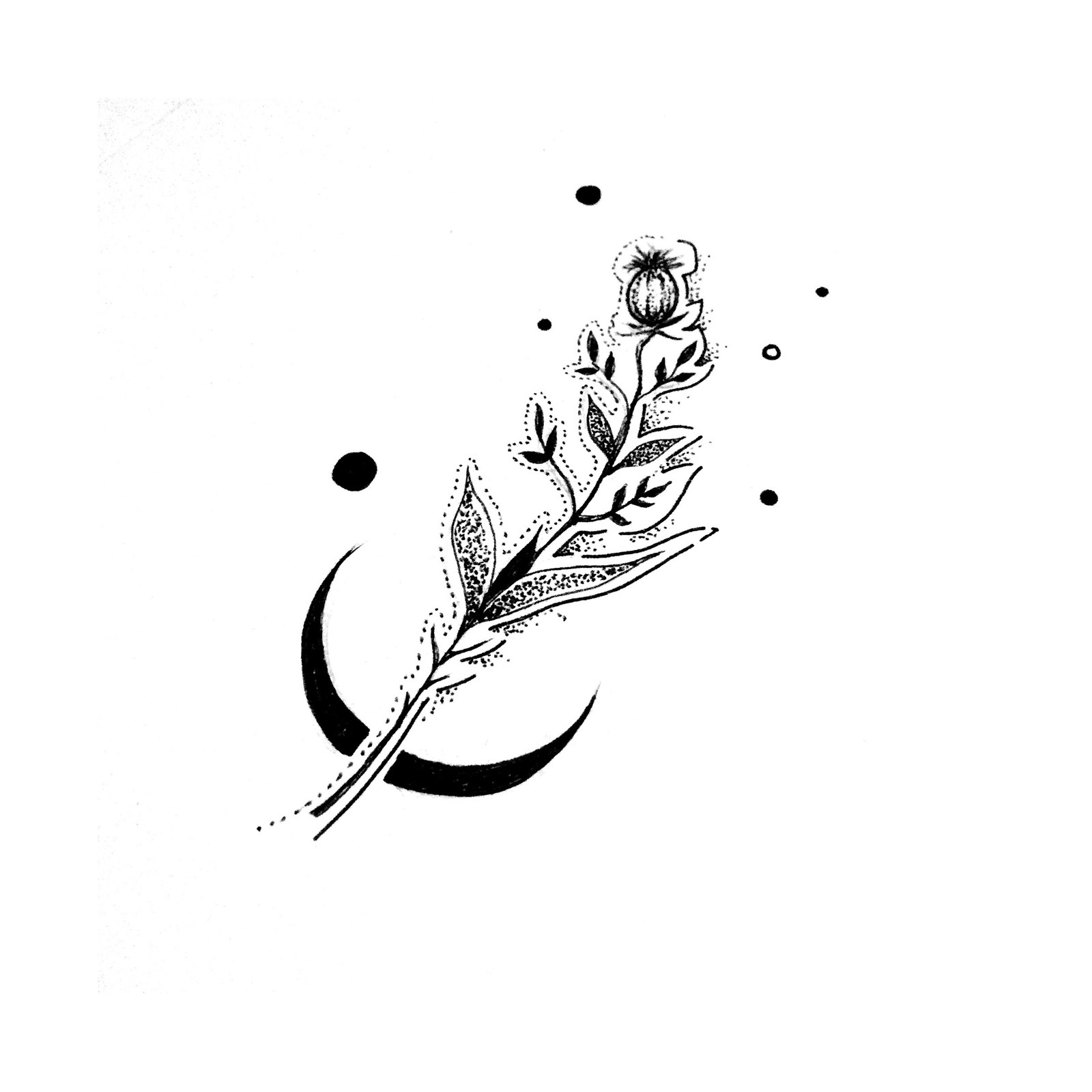 Красивые и миниатюрные тату эскизы011