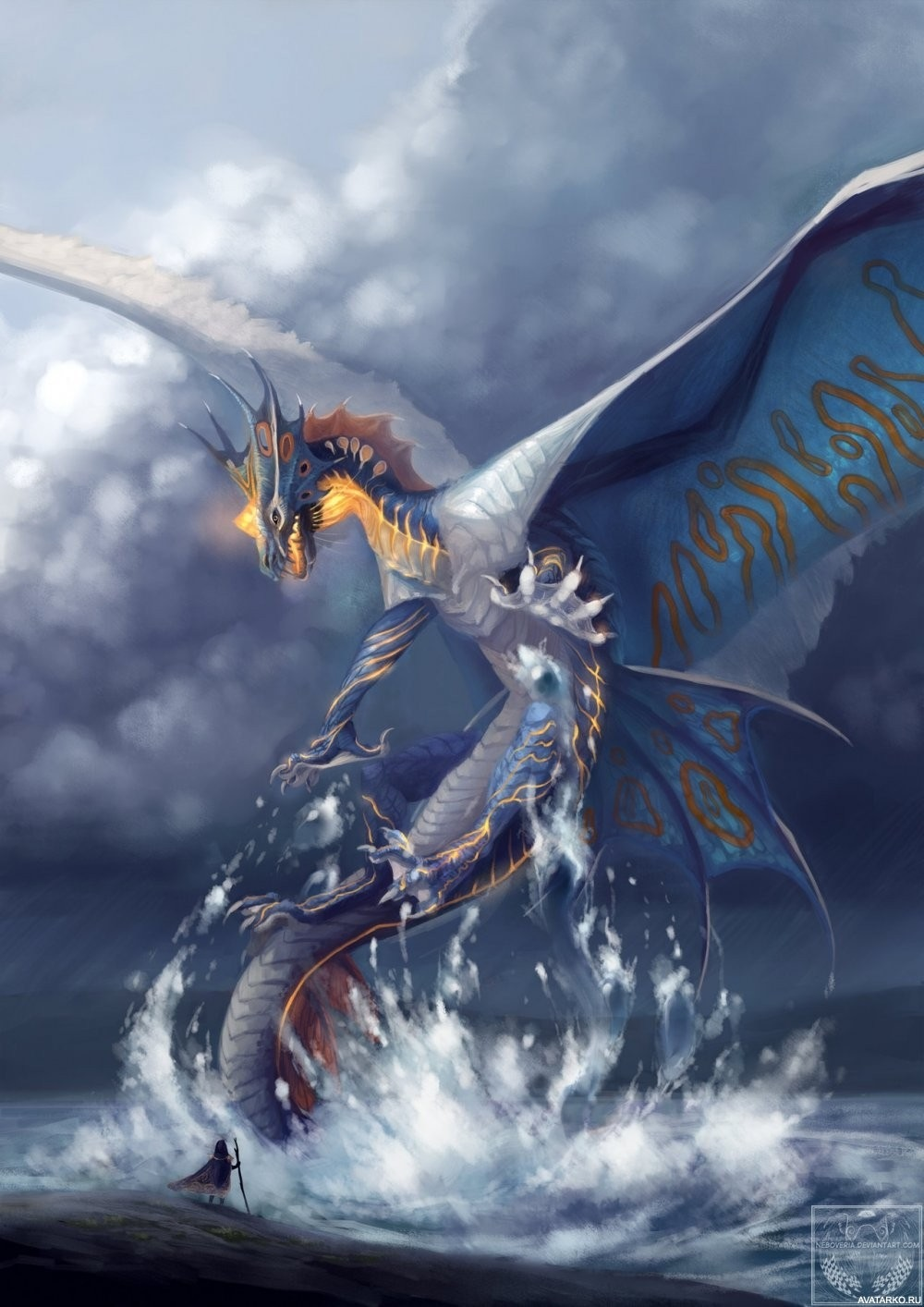 Красивые картинки Дракон Скрилл004