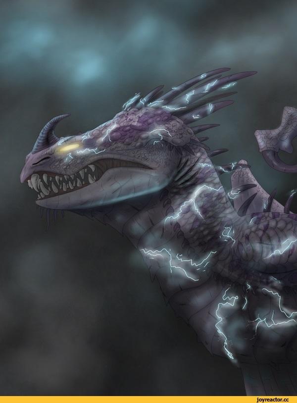 Красивые картинки Дракон Скрилл009