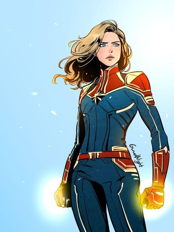Красивые картинки Капитан Марвел (12)