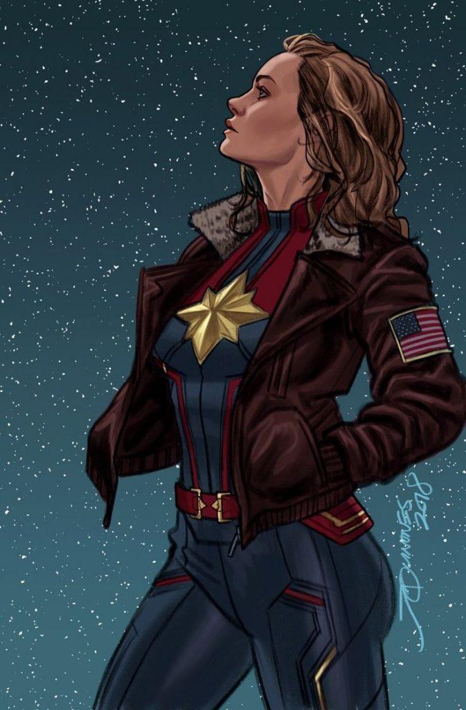 Красивые картинки Капитан Марвел (2)