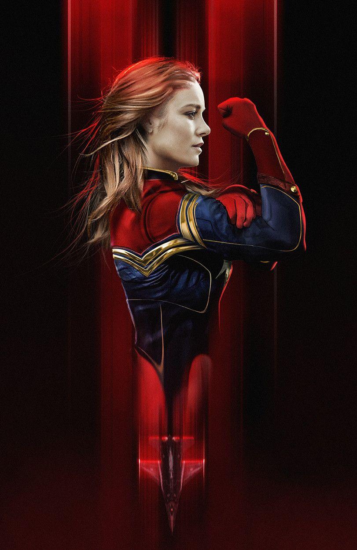 Красивые картинки Капитан Марвел (27)